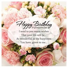 Free birthday cards for love | I send to you warm wishes
