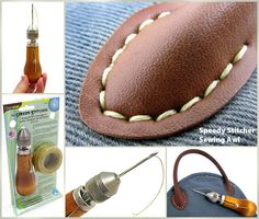 How to Use The Speedy Stitcher Sewing Awl