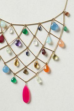 Rainbow Bib Necklace