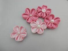 Flor de tecido -Flower tissue DIY- pap-tutorial - YouTube