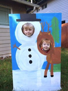 Sowdering About: DIY Holiday Photo booth
