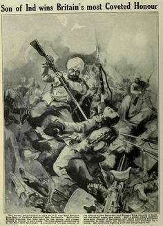 Mir Dast wins his Victoria Cross on 26 April From War Illustrated World War One, People Of The World, First World, Military Careers, Military History, Pax Britannica, Colonial, D Day Normandy, Ww2 Posters