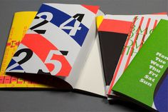 Shop - Typographic Notebook Collection | Slanted - Typo Weblog und Magazin