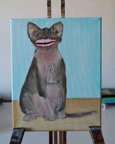 Progress video Portrait Acrylic, Dog Paintings, Painting Videos, Acrylic Painting Canvas, Pet Portraits, Costumes, Etsy, Cute, Pets