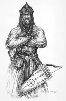 Magyars were impressive horsemen, fantastic archers and the terror of Eastern Europe Hungarian Tattoo, Hungary History, Attila The Hun, Shiga, Eastern Europe, Middle Ages, Asian Art, Illustrators, Tatoos