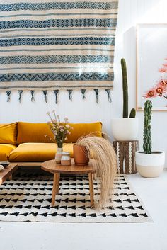 Pampa Rugs and Pop&Scott at Byron Bay showroom