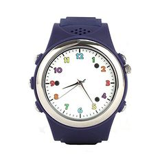 Cada GPS Smartwatch for Kids with Sos/wireless Charging/colorful Fit for Iphone and Android Smartphone(boy Blue) * For more information, visit image link.