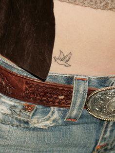 Le tatouage de Jessica Biel