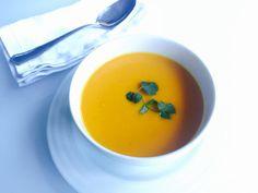 Sopa de Zanahorias Rostizadas