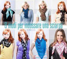 Come indossare una sciarpahttp://www.dieta-e-bellezza.com/2014/02/10/8-modi-per-portare-una-sciarpa/