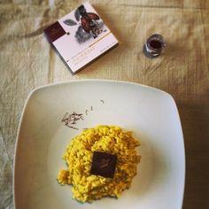 #cibo #zafferano #domori #cioccolato #food #pranzetti