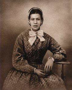 - French Creoles | Marie Laveau.  She may have been a witch but she was certainly lovely.