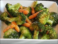 Broccoli with Sautéed Carrots •1 Medium Bunch Broccoli  •2 Large Carrots  •2 Teaspoons Olive Oil  •1/2 Teaspoons Fresh Thyme  •1/4 Teaspoon Onion Powder  •1/2 Teaspoon Sea Salt  •1/8 Teaspoon Cayenne Pepper  •1 Teaspoon Fresh Parsley  •1/4 Teaspoon Turmeric