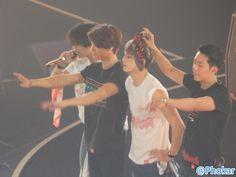 141106 #CNBLUEWaveAreaTour RT phokar: See you Arena Tour 'Wave' in Osaka day2