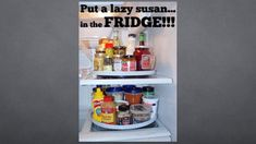 Don& let your fridge fall into a mess! Use these genius and simple DIY freezer and refrigerator organization hacks to keep your shelves and drawers neat and clean. From side pouches to lazy susans. Life Hacks List, Useful Life Hacks, Refrigerator Organization, Kitchen Organization, Pantry Organisation, Kitchen Storage, Apartment Hacks, Apartment Living, Kitchen Hacks