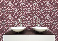 C712-16 bathroom splashback tile