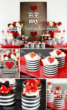 Valentine's Day Party with Easy to Make Desserts!