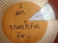 This is a great craft for kids at Thanksgiving time.