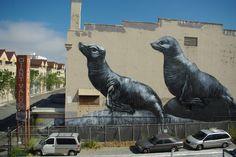 seals.  Street art 000