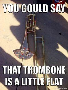 Flat Trombone
