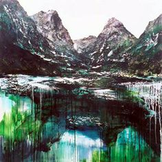 Altitude oil & acrylic on canvas stretcher size 1370 x More Images, Artist Painting, Fine Art, Mountains, Canvas, Gallery, Artwork, Landscapes, Travel