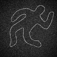 dead body silhouette - Google Search