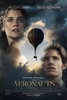 Directed by Tom Harper. With Felicity Jones, Eddie Redmayne, Himesh Patel, Vincent Perez. Balloon pilot Amelia Wren and scientist James Glaisher find themselves in an epic fight for survival while attempting to make discoveries in a gas balloon in the Felicity Jones, Eddie Redmayne, Beau Film, Film D'action, Film Movie, Hindi Movie, Comedy Movies, Streaming Vf, Streaming Movies