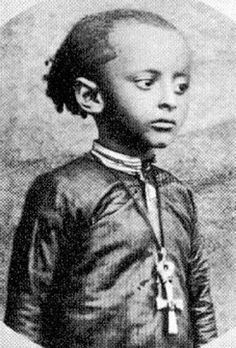 "His Imperial majesty ""Haile Selassie"" as a child... Jah Rastafari!"