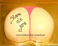 Tort stringi zrobiony przez Cukiernię Krakowskie Wypieki