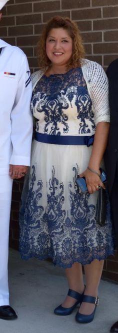 Exquisite Elegance Dress in Navy   Mod Retro Vintage Dresses   ModCloth.com