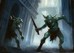 Isa's Shadow Elves Stunning Magic: the Gathering art breathes new life into classic fantasy tropes