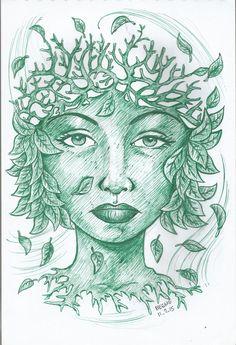 mukha ng kalikasan Art Drawings, Mix Media, Paintings, Ink, Medium, Paint, Painting Art, India Ink