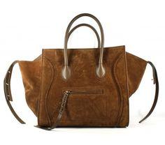 Celine Olive Suede Phantom Tote Bag, Sold Out in Stores