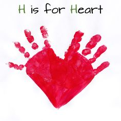 Mommy Minutes: ABC Handprint Art Part 2