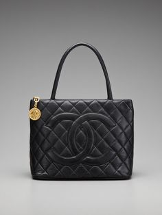Chanel Gold Medallion Caviar Tote by Chanel on Gilt  LOVE!!!!!