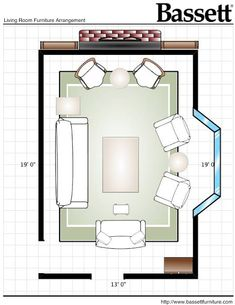 8 Must know tips & tricks for designing a {living} room !! Great website for everything home.