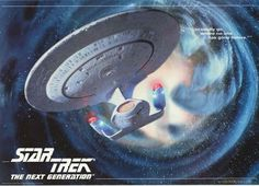 A great poster of the USS Enterprise NCC-1701-D from Star Trek: The Next Generation! An original published in 1995. Fully licensed. Ships fast. 24x33 inches. Boldly Go and check out the rest of our aw