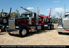 2006 kenworth log truck w900 L from sweet home oregon