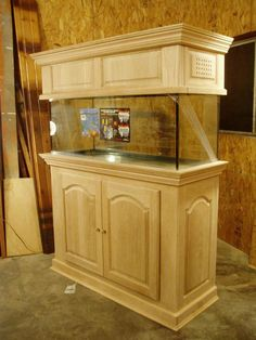 diy aquarium furniture stands are an integral part of every aquatic system. The aquarium stand should be sturdy so that it can bear the weight of a filled a Aquarium Cichlidés, 75 Gallon Aquarium Stand, Fish Aquarium Decorations, Cichlid Aquarium, Tropical Fish Aquarium, Tropical Fish Tanks, Aquarium Design, Aquarium Ideas, Aquarium Cabinet