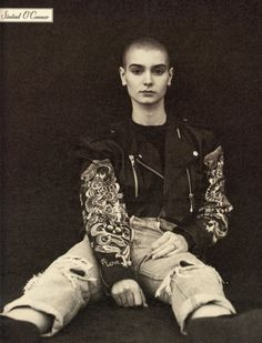Sinead O'Connor, Rolling Stone, 1990.  Photo: Herb Ritts