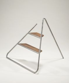 Reader Submitted: Triangle Step Ladder: An Aesthetically Pleasing Step Stool by…