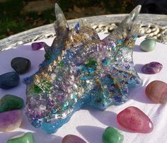 Items similar to Tiamat' The Large Sea Dragon. Healing Orgone Energy Generator on Etsy
