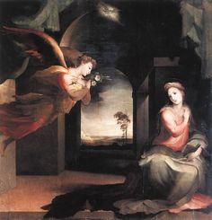 Domenico Beccafumi - Annunciazione di Sarteano, 1546