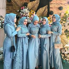 Dress Muslimah, Hijab Dress, Bridesmaid Dresses, Wedding Dresses, Kebaya, Dan, Women's Fashion, Modern, Instagram