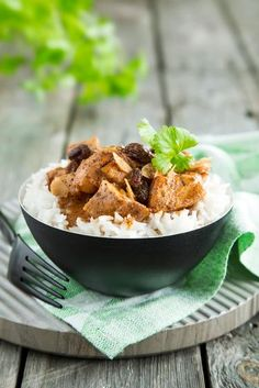 Intialainen kanakorma (Mughlai chicken Korma)   Maku Korma, Apple Pie, Waffles, Chicken, Meat, Breakfast, Desserts, Recipes, Food
