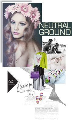 """Neutral Ground"" by browneyez ❤ liked on Polyvore"