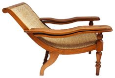 Offered is a colonial teak and weaved cane plantation chair. Arms fold out for leg support which was originally used to remove work boots. Cane Furniture, Living Room Furniture, Colonial Chair, Colorful Couch, Indian Homes, Wood Sofa, Club Chairs, Sofa Bed