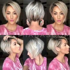Best Cute Short Haircuts 2019 Best Cute Short Haircuts Is it accurate to say that you are exhausted with your typical hairstyle? Would you like to make a flawless short hairstyle? Short Hairstyles For Thick Hair, Cute Short Haircuts, Short Hair Cuts, Curly Hair Styles, Short Hair With Undercut, Short Wavy, Pixie Cuts, Undercut Hairstyles, Hairstyles Videos