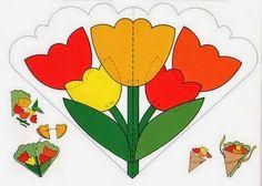 Meus Trabalhos Pedagógicos ®: Cartão para o dia das mães - diversos