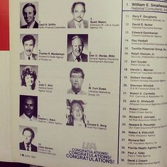 Recognize any faces from the United American President's Club of June 1991? #TBT #ThrowbackThursday #UA